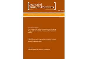 Coaching Artikel im Journal of Business Chemistry